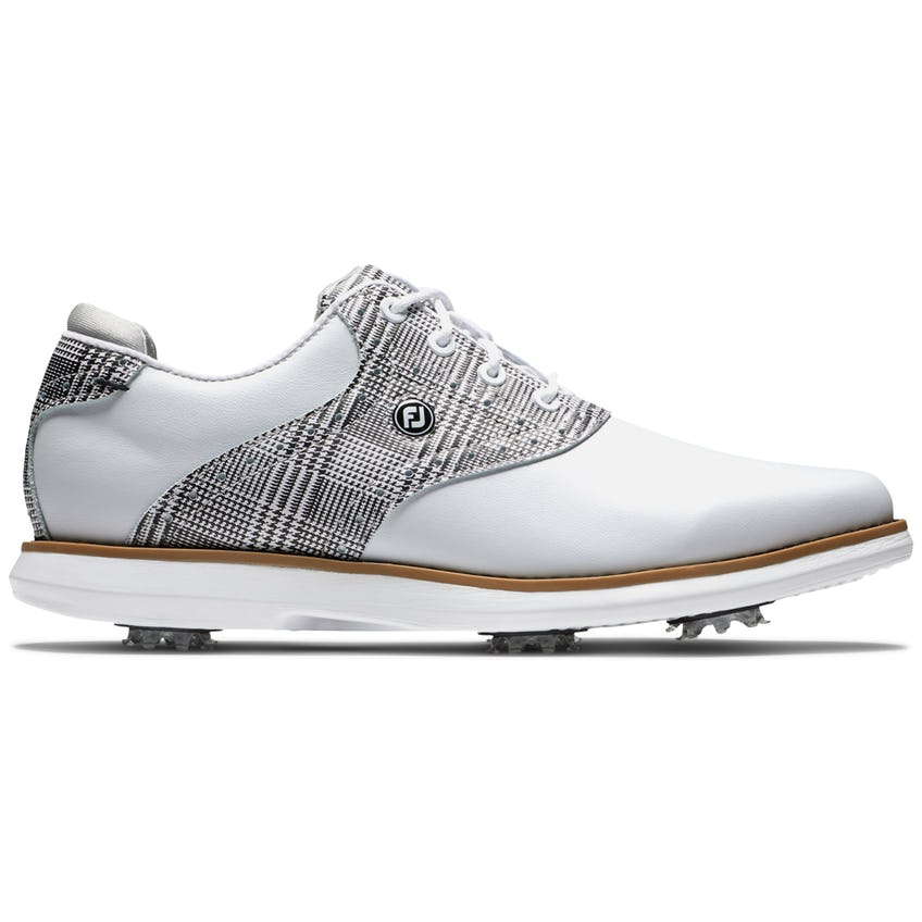 Womens Traditions  Cleated Laced White/Multi/Gray - SS21 0