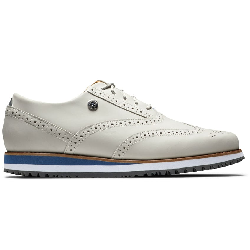 Womens Sport Retro Spikeless Laced White/White/White - SS21 0