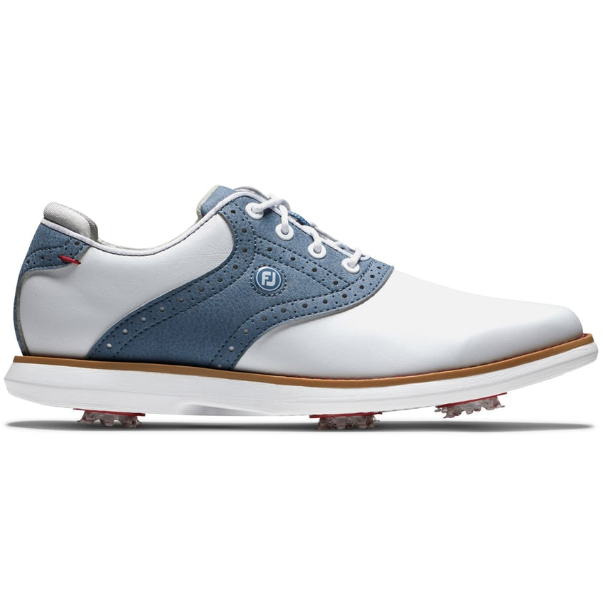 Womens Traditions Cleated Laced White/Blue/White - SS21 0