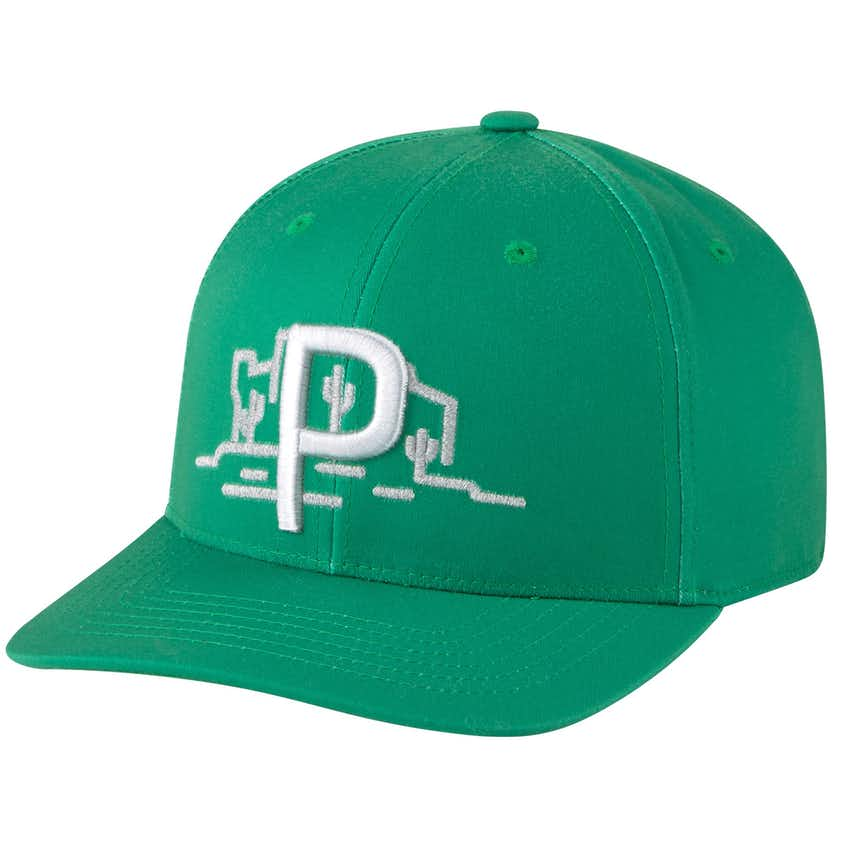 Puma First Mile Cactus P110 Snapback Cap Amazon Green - 2021