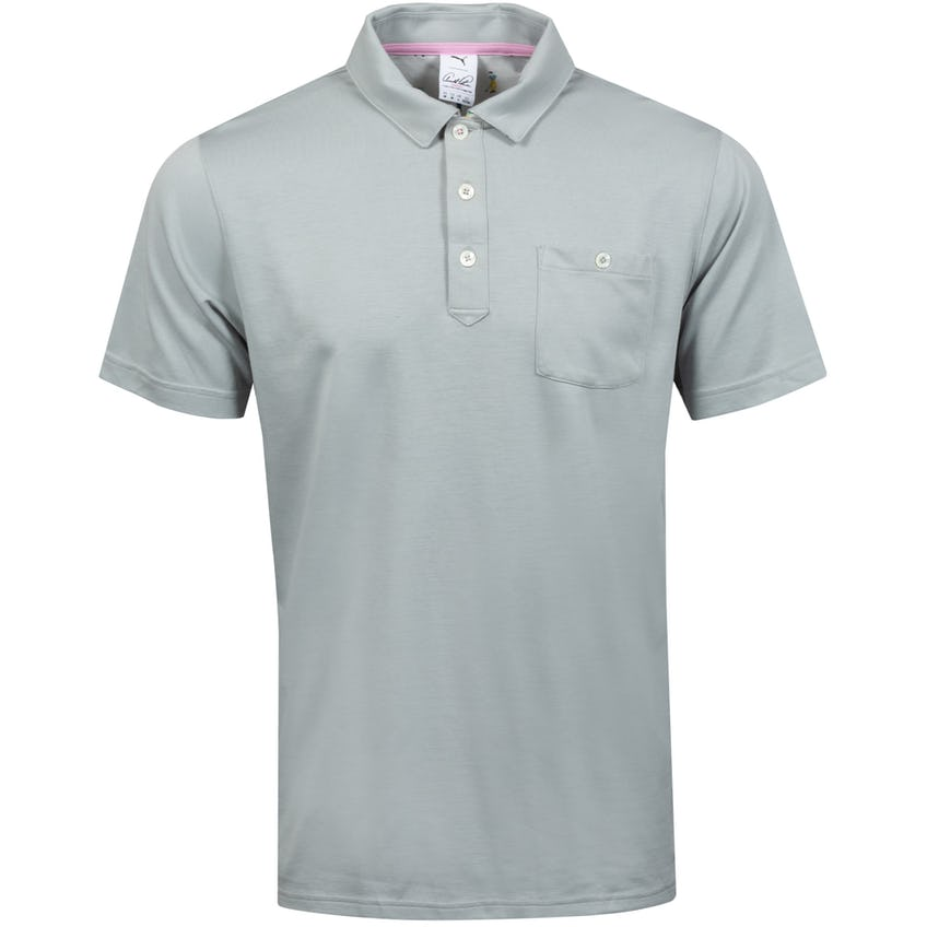 Signature Pocket Polo Shirt Mirage Grey - SS21