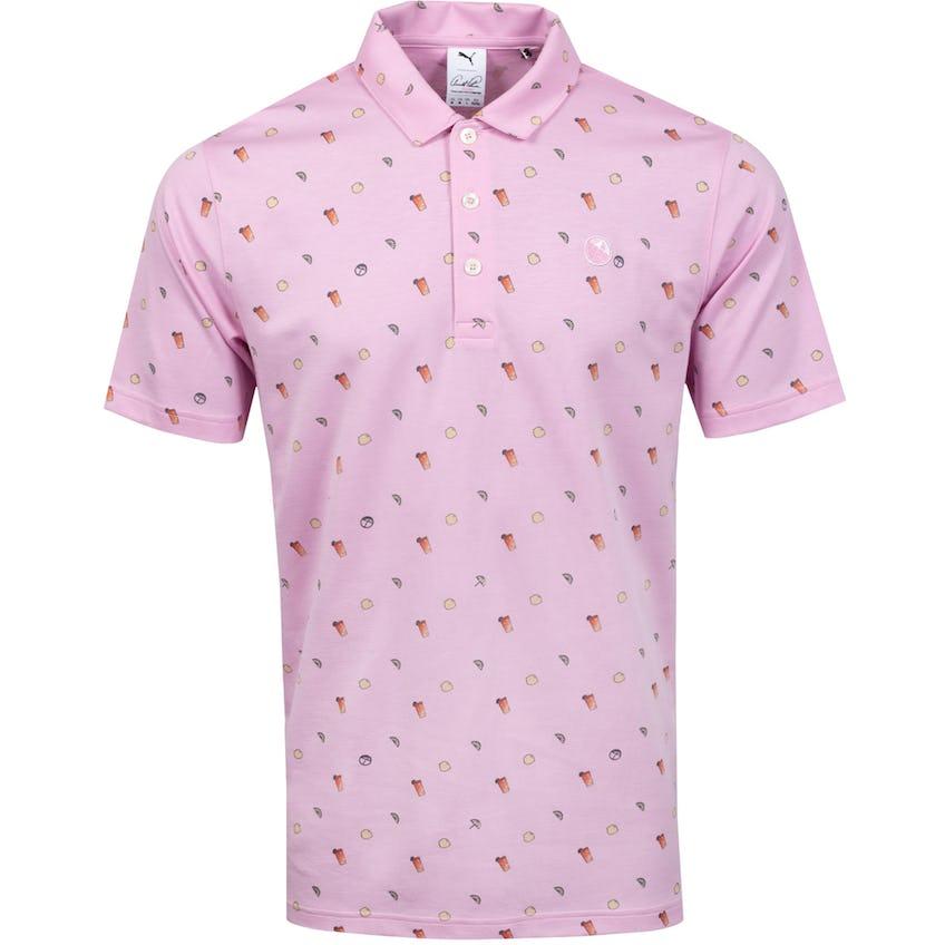AP Lemons Polo Shirt Pale Pink - SS21