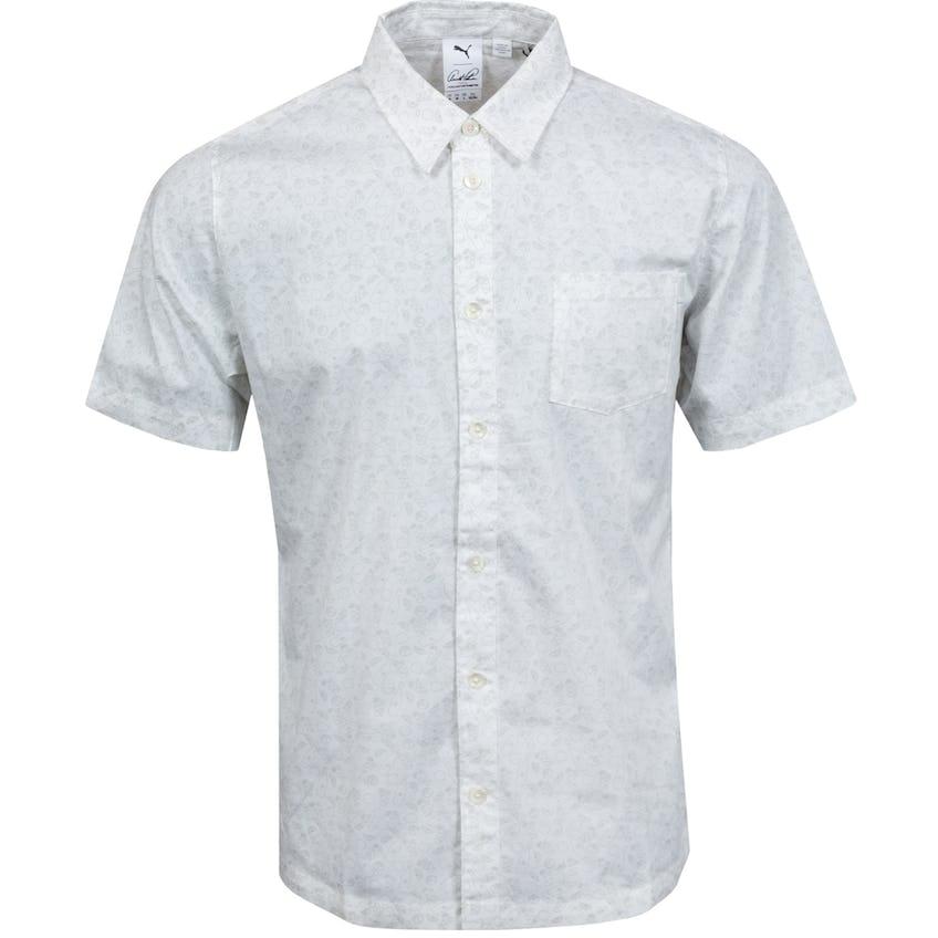 AP 19th Hole Button Down Shirt Bright White - SS21