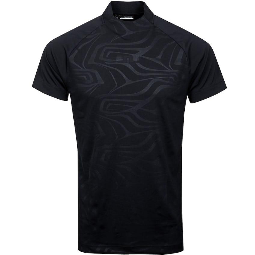 Benga Regular Fit Print TX Jersey Neo Deboss Black - SS21