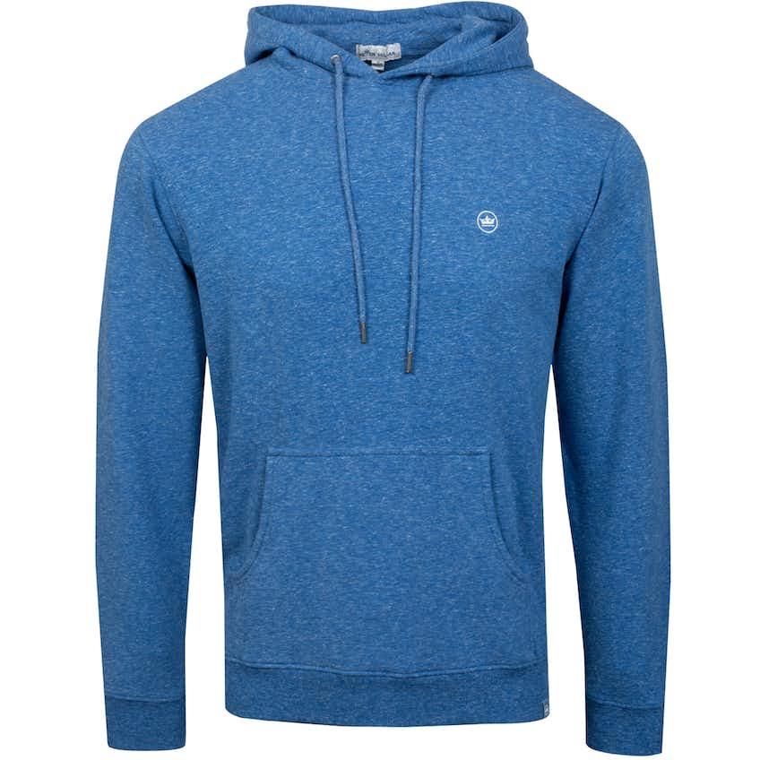 Lava Wash Hoodie Coastal Blue Melange - SS21