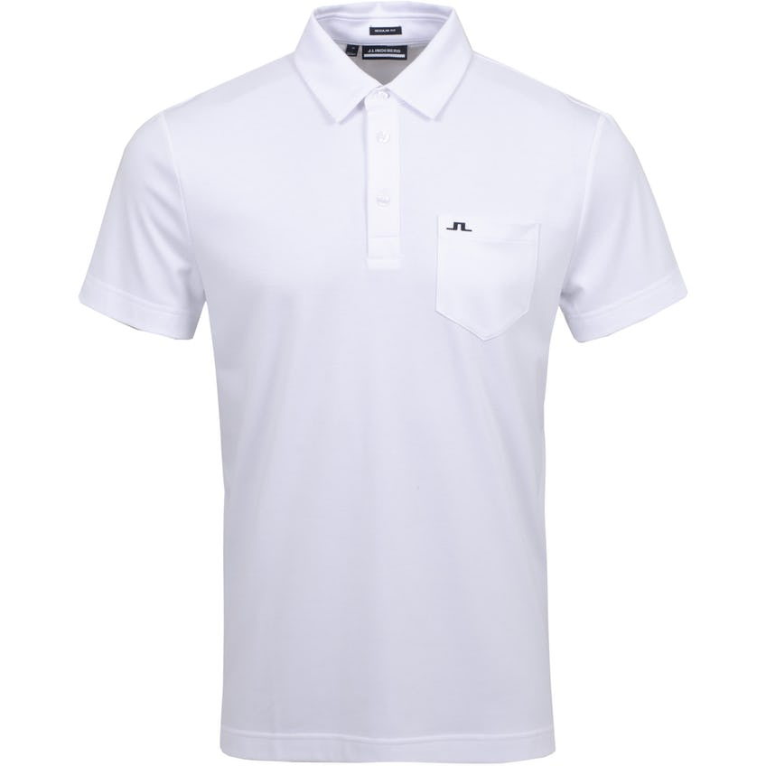 Rayan Regular Fit Club Pique White - SS21