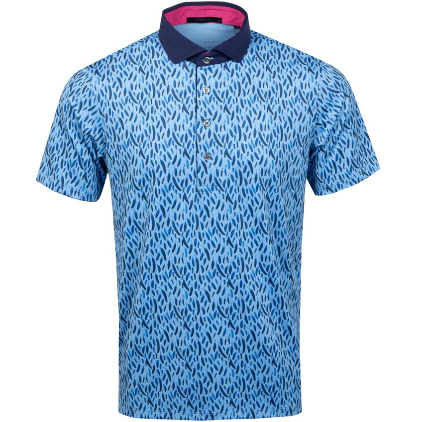 Blue Bird Polo Shirt Sky - SS21