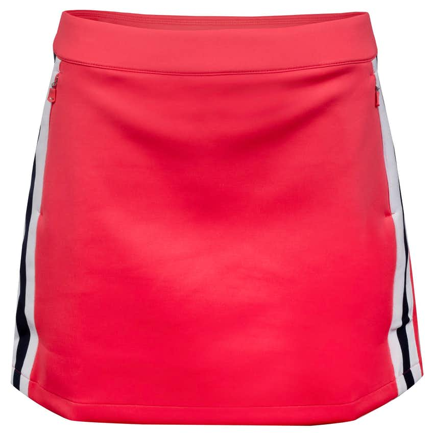 Womens Side Stripe Stretch Skort Peaceful Coral