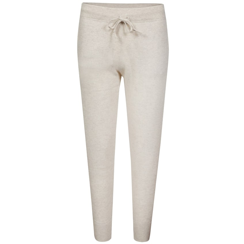 Womens Washable Cashmere Jogger Spring Navy Heather/Cream - SS21 0