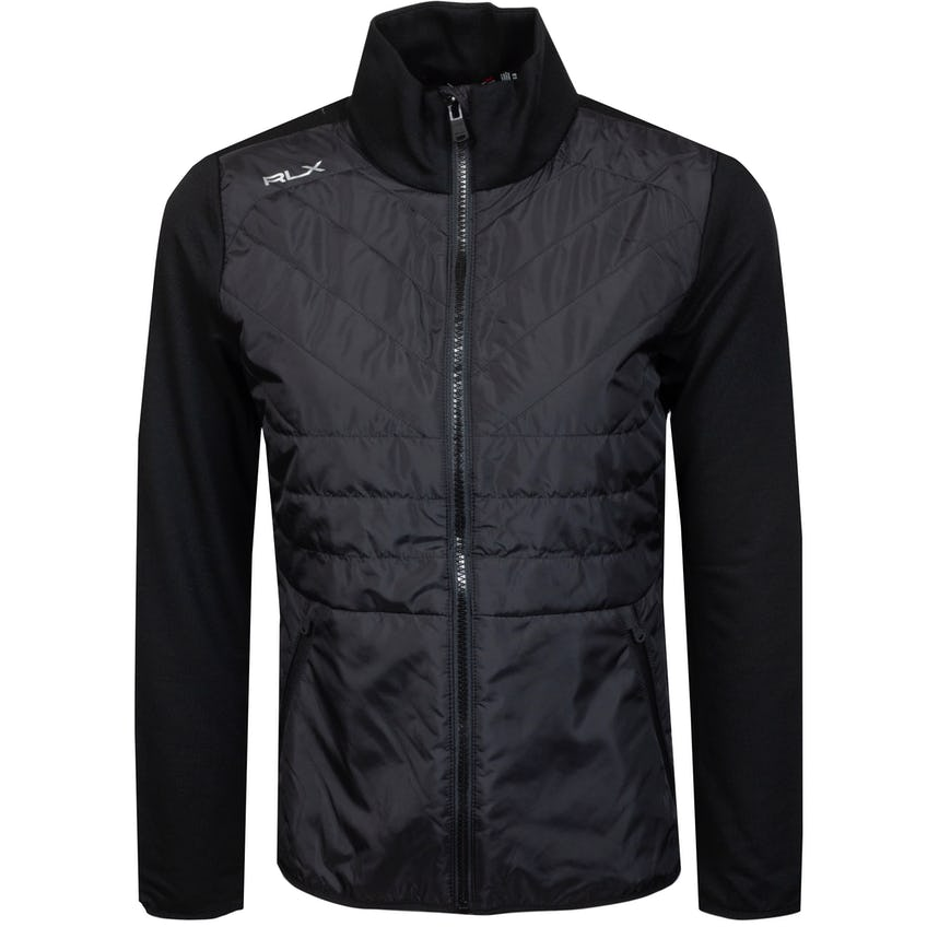 Womens Performance Wool Full Zip Jacket Polo Black - SS21 0