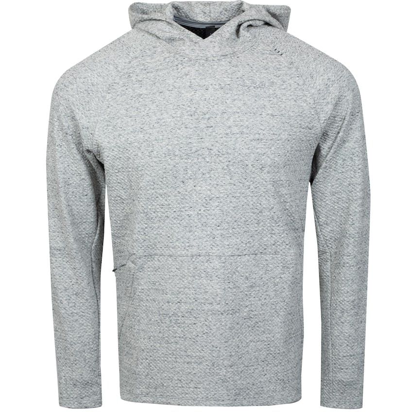 x TRENDYGOLF At Ease Hoodie Heathered Melody Light Grey/Black - SS21