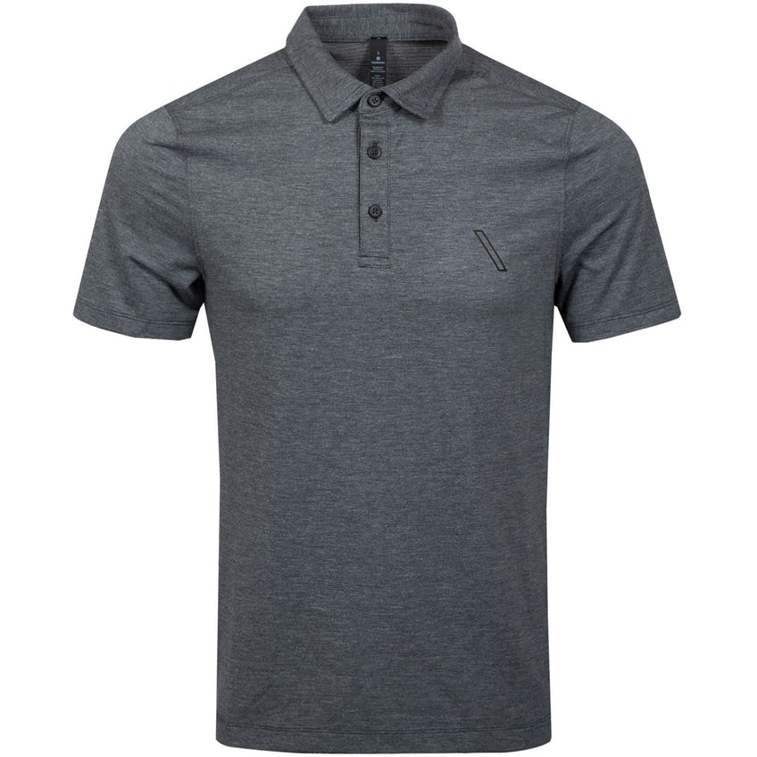 x TRENDYGOLF Evolution Polo Heathered Black - SS21