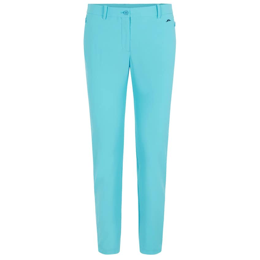 Womens Dana Micro High Stretch Side Stripe Trouser Beach Blue - SS21