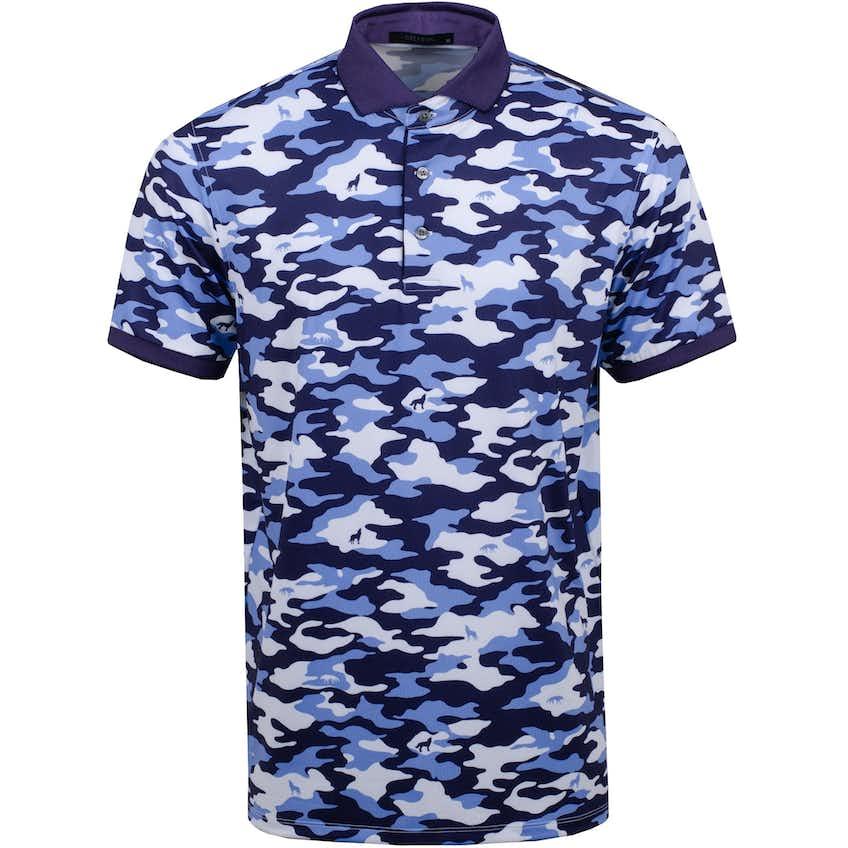 Camo Scape Polo Shirt Arctic - SS21