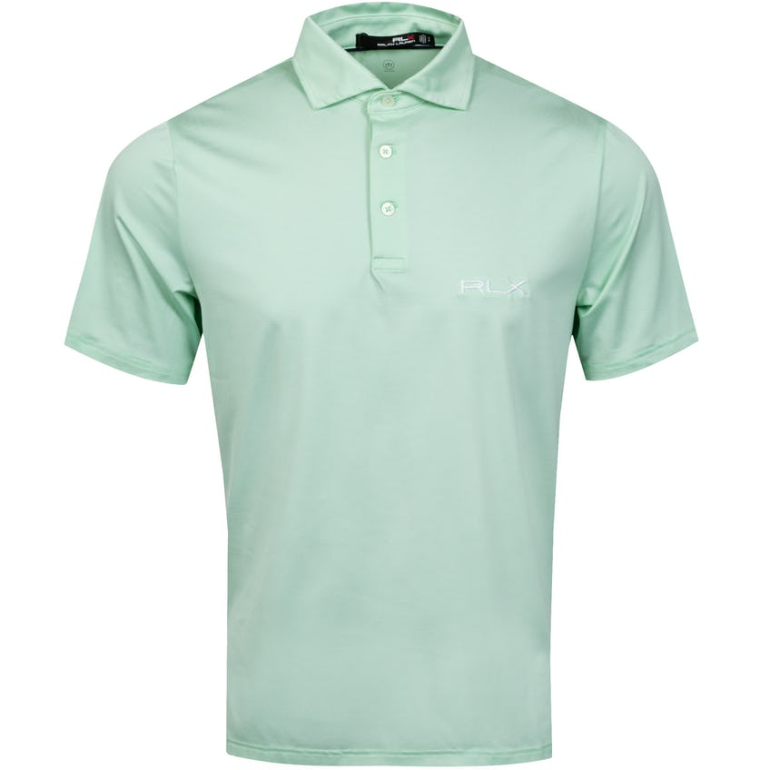 Featherweight Airflow Polo Shirt Lime Drop/Pure White - SS21