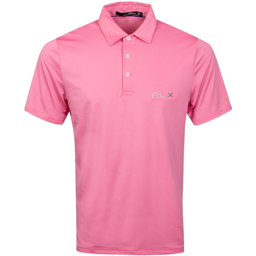 RLX Ralph Lauren Solid Airflow Polo Shirt Lauren Pink - SS21 0
