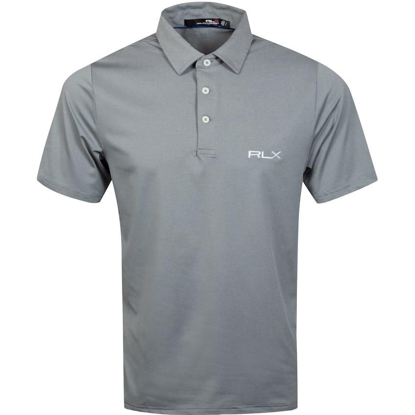 RLX Ralph Lauren Solid Airflow Polo Shirt Dark Sport Heather - SS21 0