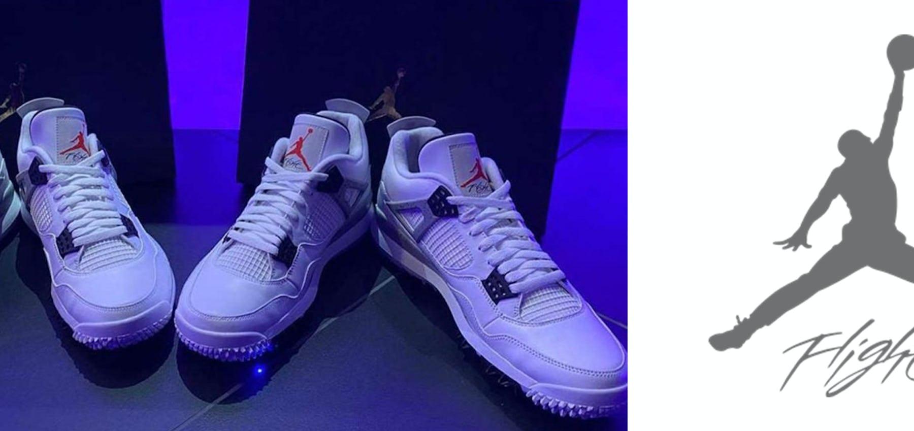 Air Jordan 4 Golf 'White/Cement'