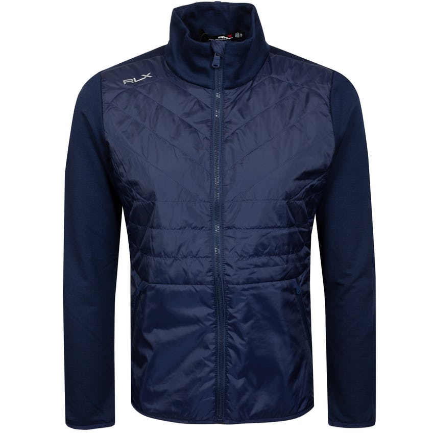 Performance Wool Full Zip Jacket French Navy - SS21