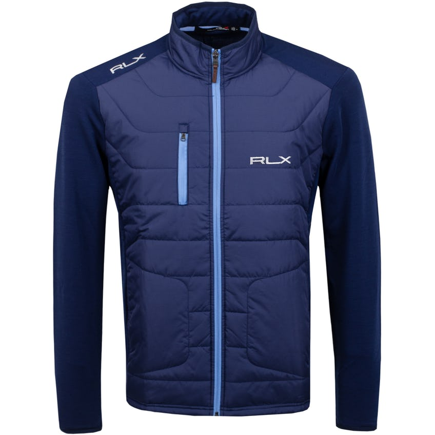 Coolwool LS Full Zip French Navy - SS21