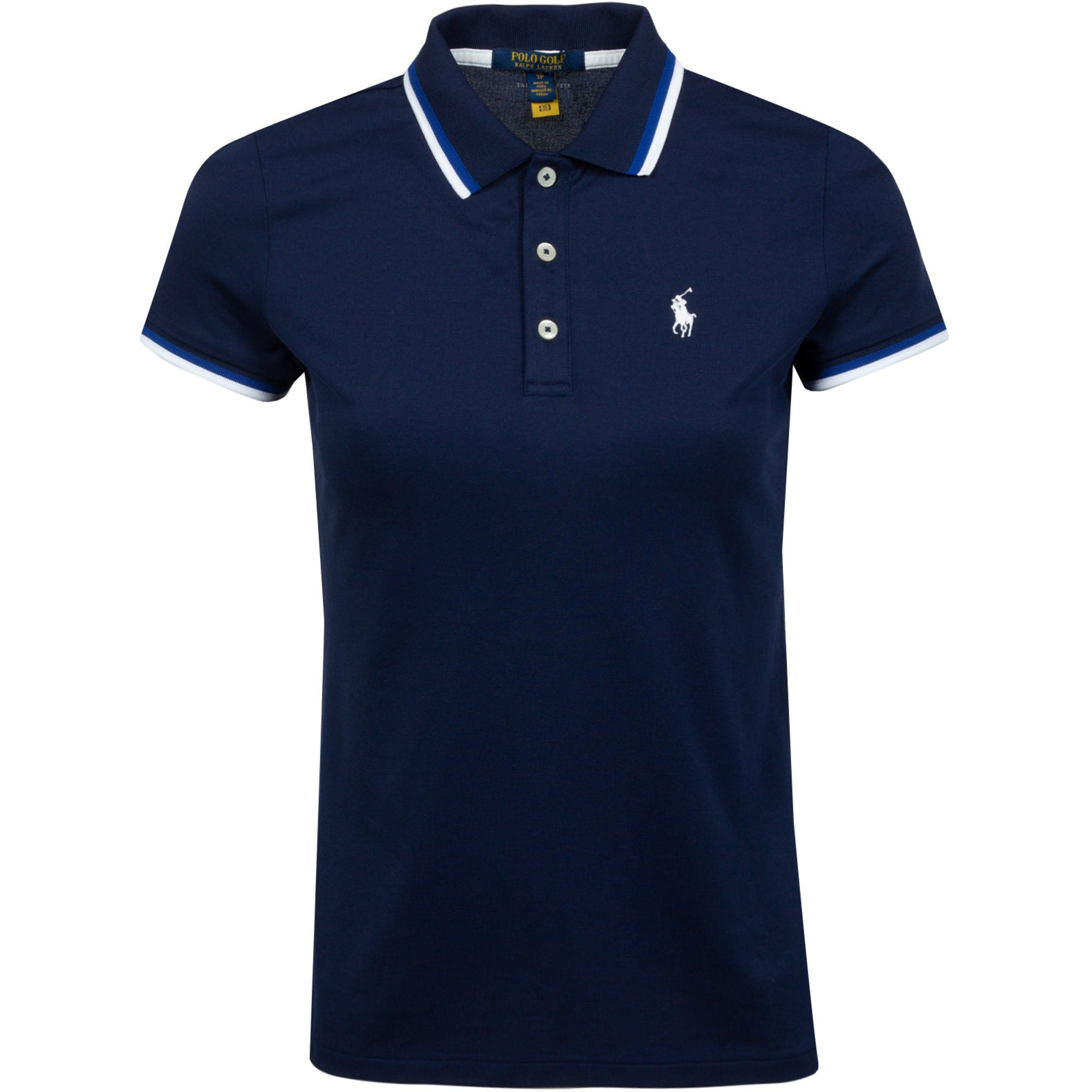 Womens Val Polo Shirt French Navy - SS21