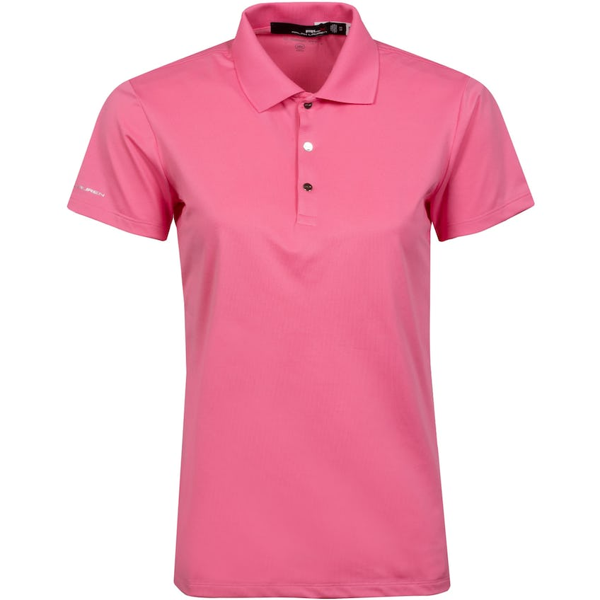 Womens SS Tournament Polo Carmel Pink - SS21