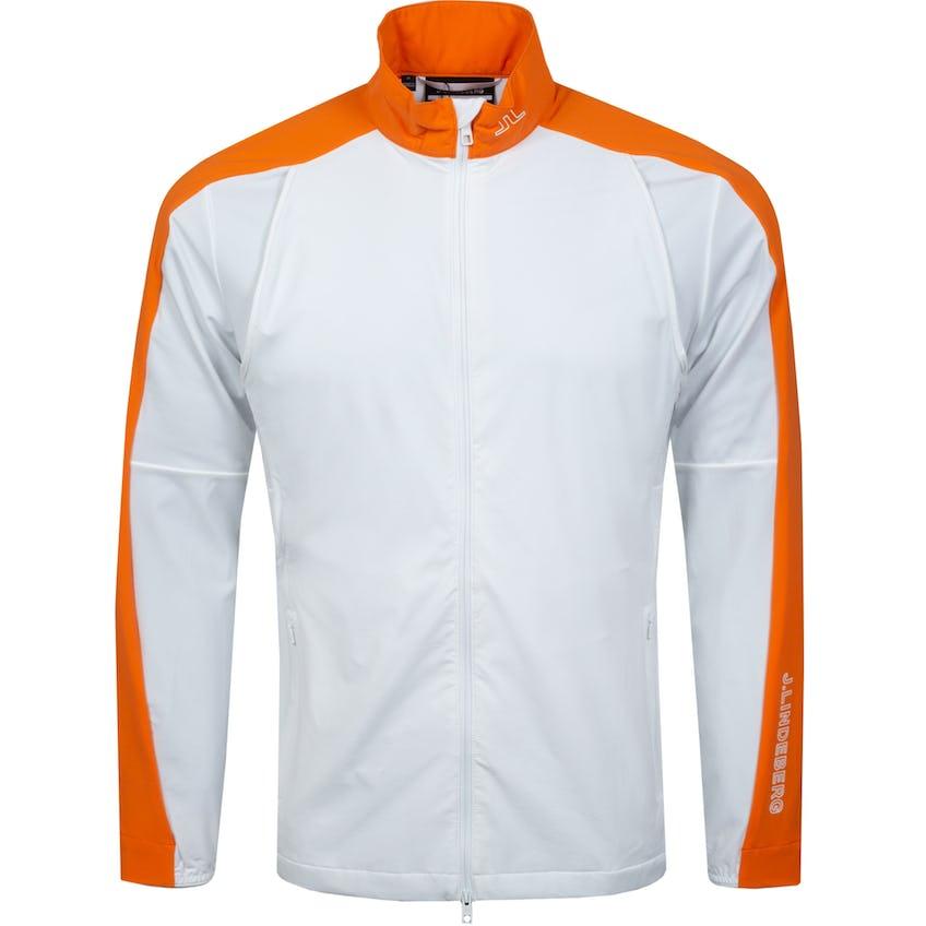 Zane Active Mesh Lightweight Jacket White - SS21