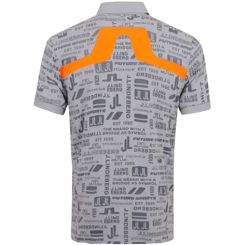 KV Regular Fit Print Burn Out Mesh Jersey JL Future Grey - SS21