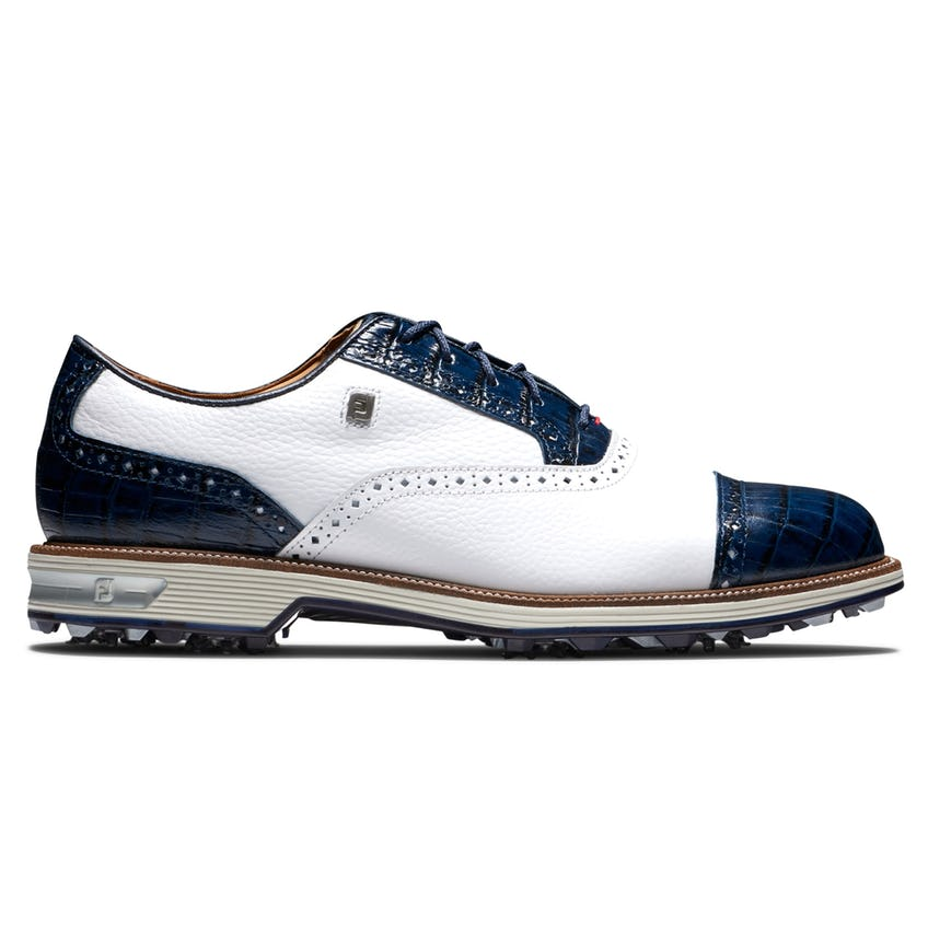 Premiere Tarlow Spiked Golf Shoes White/Navy - SS21