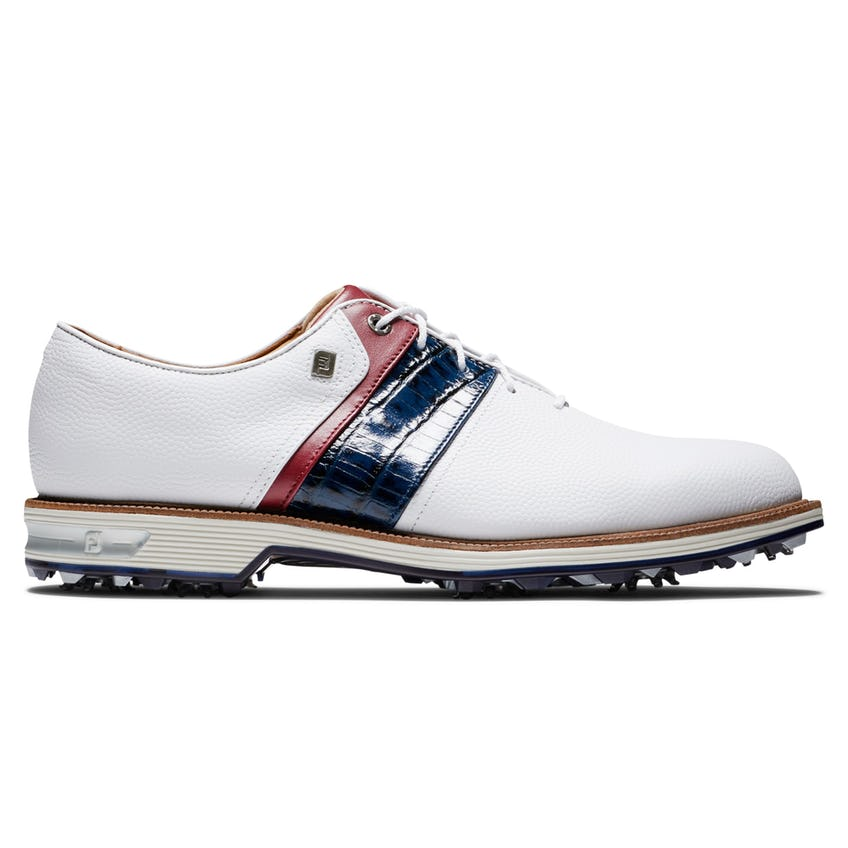 Premiere Packard Golf Shoes White/Navy/Red - SS21
