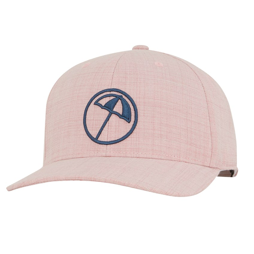 AP Circle Umbrella Snapback Cap Pale Pink - SS21