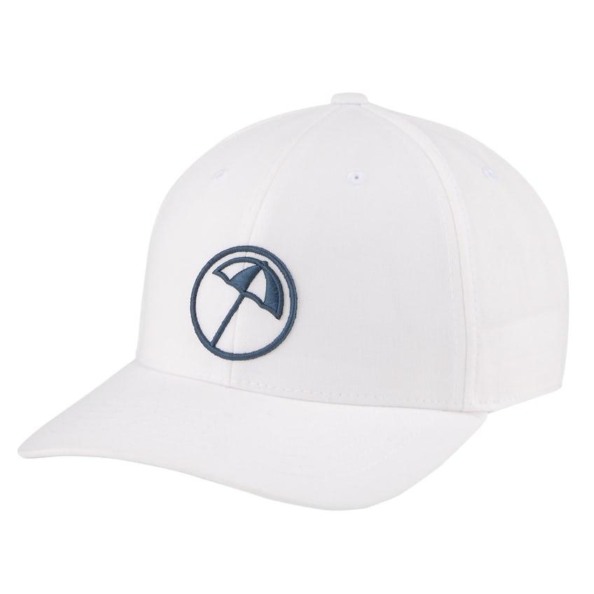 AP Circle Umbrella Snapback Cap Bright White - SS21 0