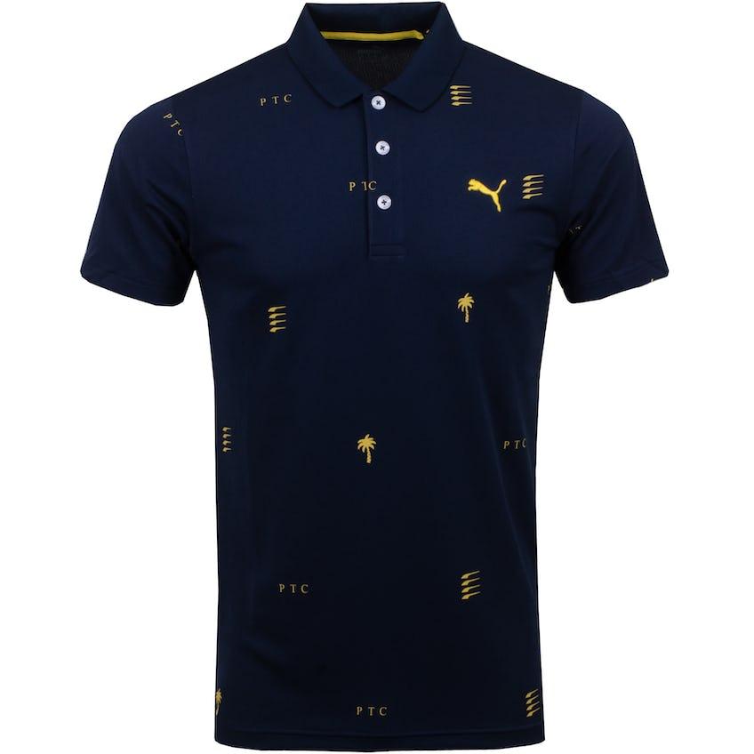 Puma x PTC Edition Polo Shirt Navy Blazer- SS21