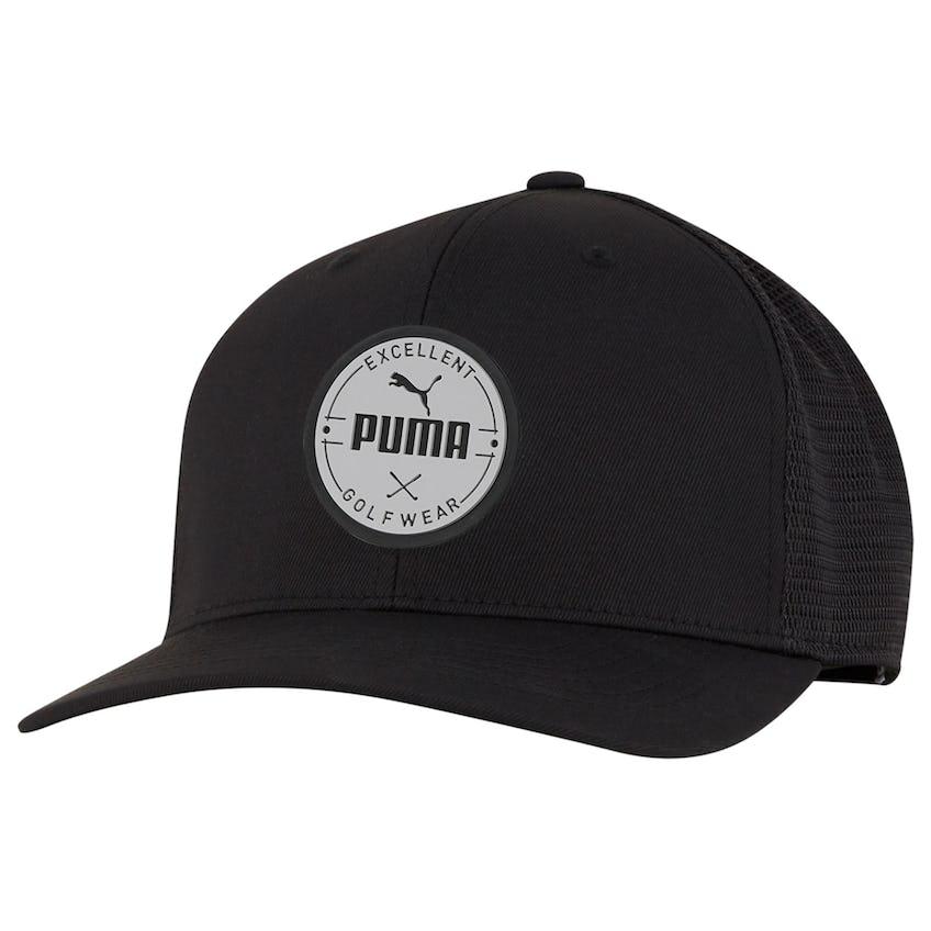 Puma Golf Wear Circle Patch Cap Black - SS21