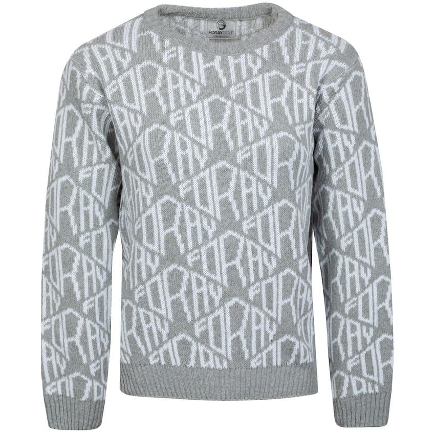 Womens Core Diamond Logo Sweater Bleach/Aluminium 0