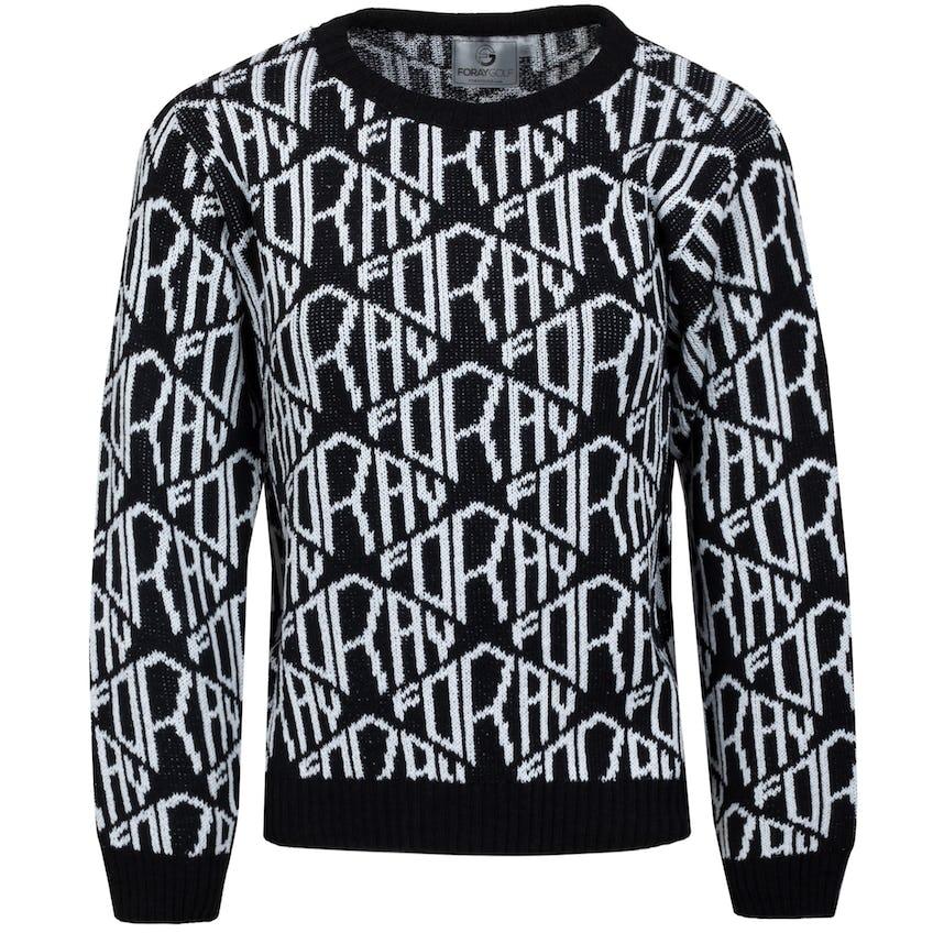 Womens Core Diamond Logo Sweater Jet Black/Bleach 0