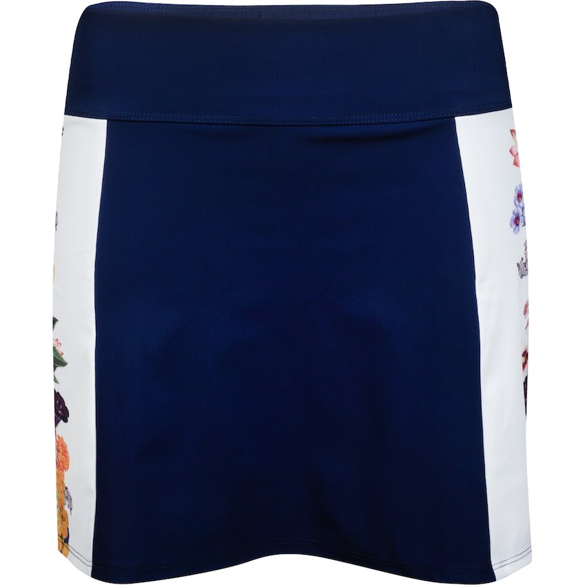 Womens Placed Floral Skirt Navy/Printed Floral 0