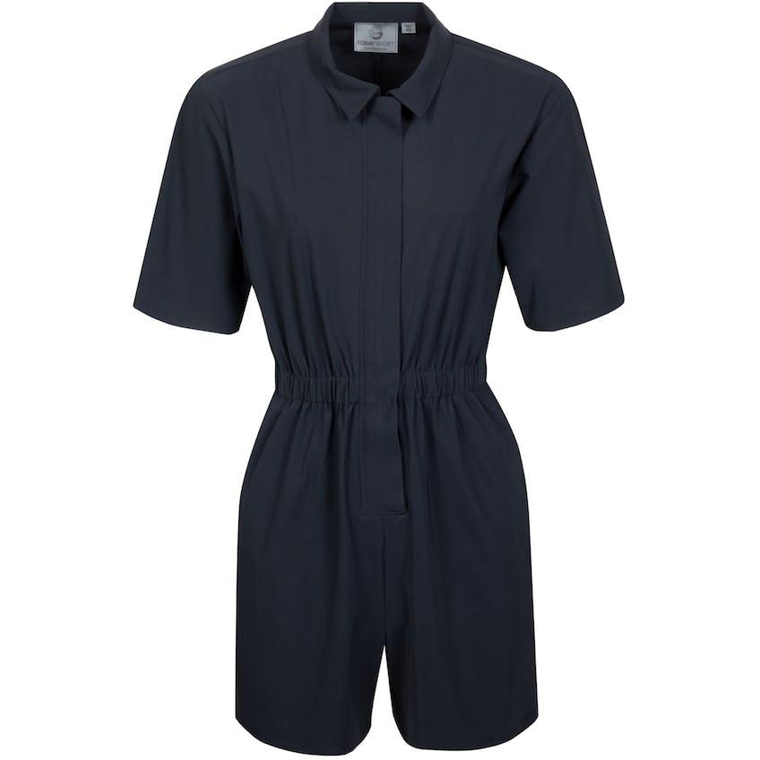 Womens Core Zip Front Jumpsuit Black 0