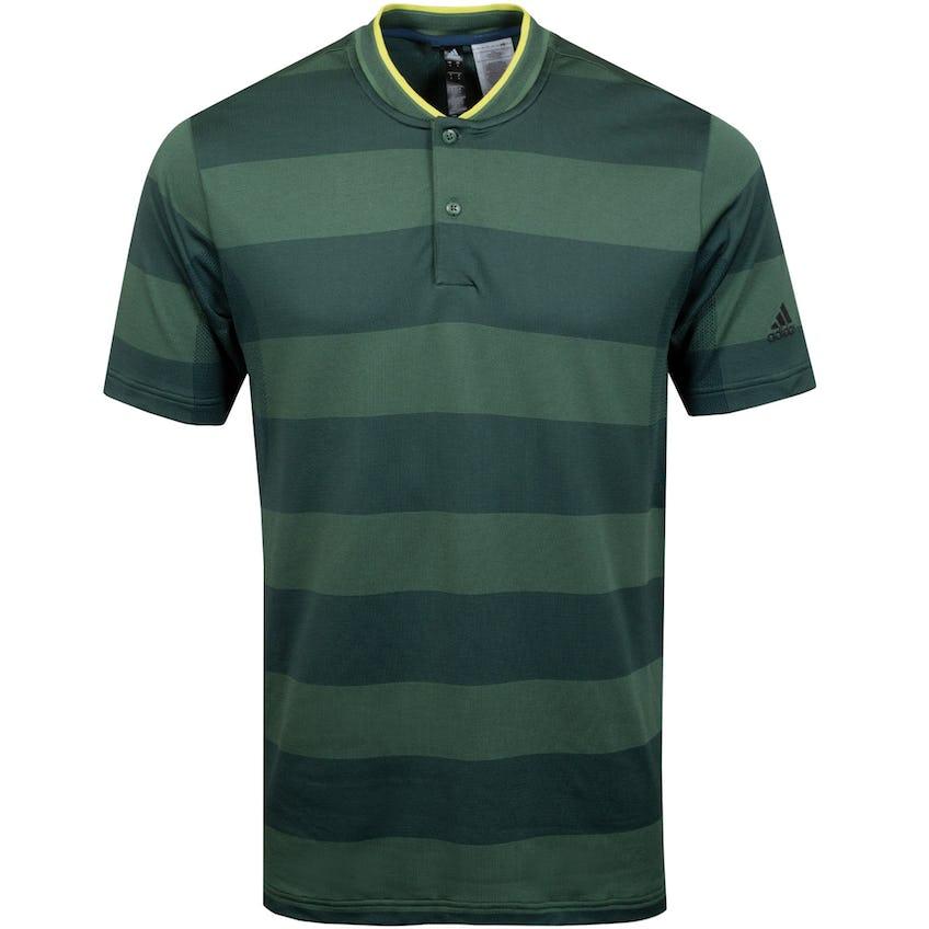 Primeknit Polo Shirt Green Oxide/Deepest Green - SS21