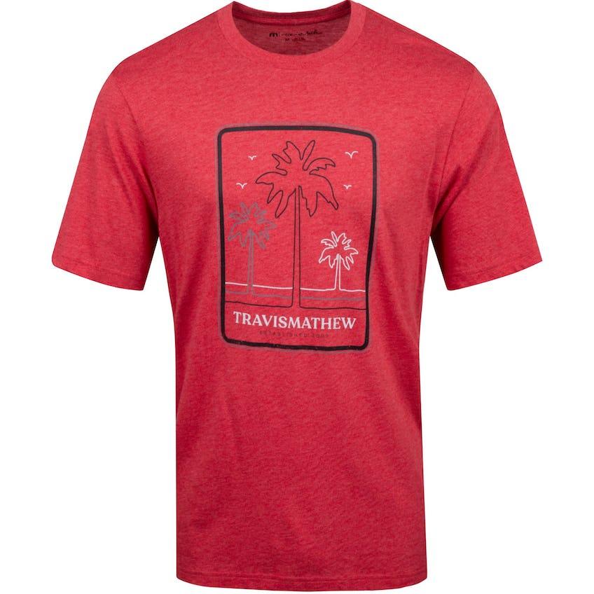 Honeymoon Suite T-Shirt Heather Red - SS21