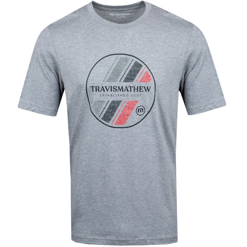 Shore Line T-Shirt Heather Grey - SS21