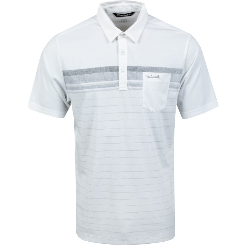 Off The Tracks Polo Shirt White - SS21
