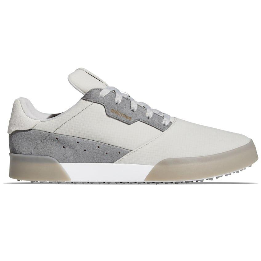 Adicross Retro Golf Shoes Grey/White - SS21