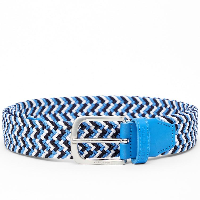 Bubba Braided Elastic Belt Ocean Blue - SS21