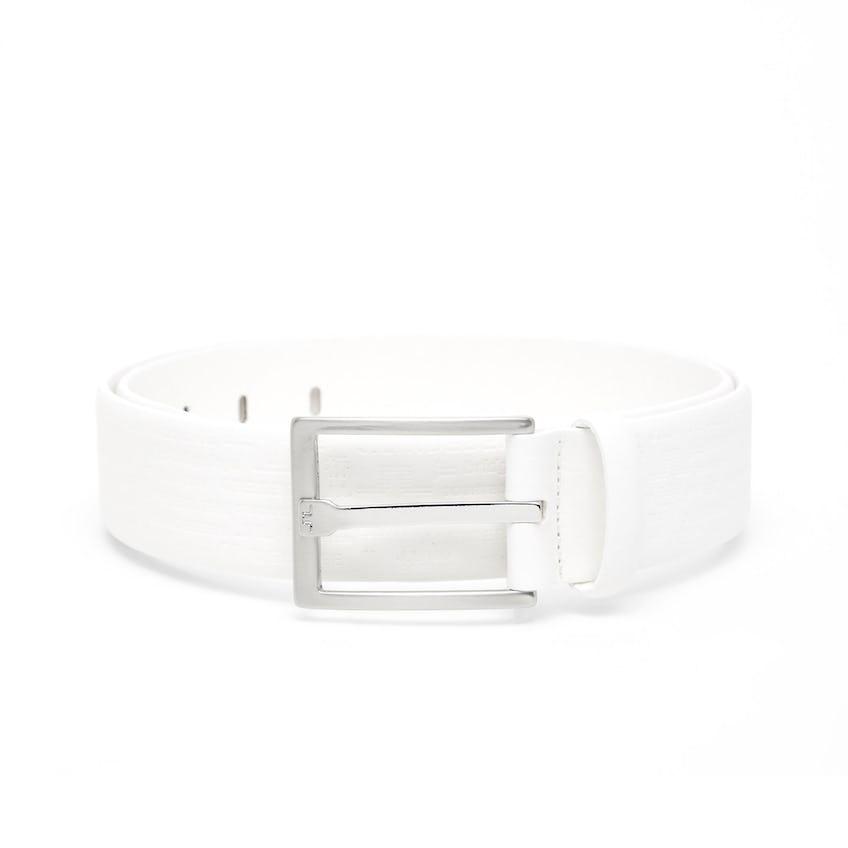 Birk Seasonal Debossed Belt White - SS21