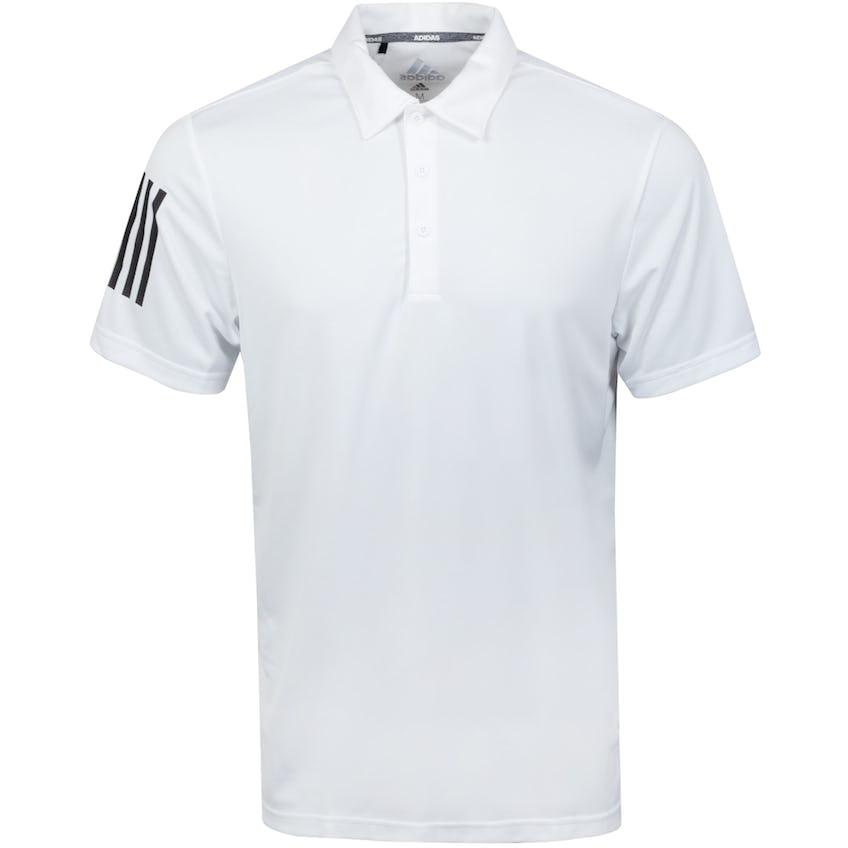 3-Stripe Polo Shirt White/Black - SS21
