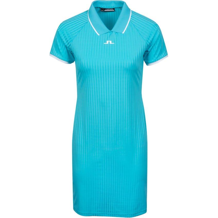 Womens April Rib Jersey Dress Beach Blue - SS21 0