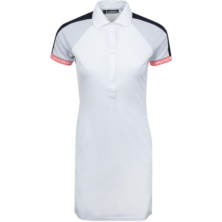 Womens Polly TX Jersey Dress White - SS21 0