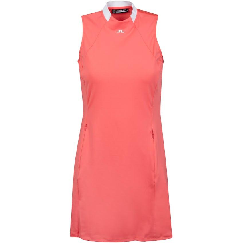 Womens Nena Active Mesh Sport Jersey Dress Tropical Coral - SS21