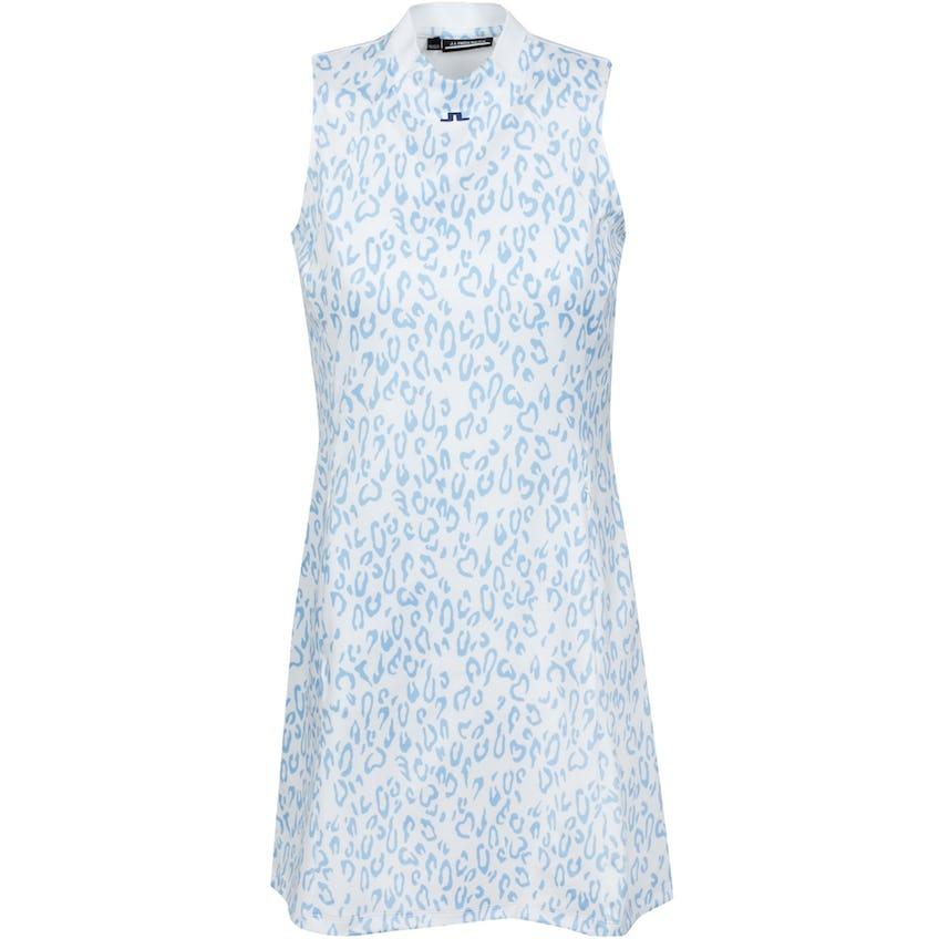 Womens Nena Active Mesh Sport Jersey Print Dress Animal Blue - SS21 0